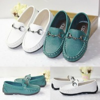 NEW children's leather shoes kids for boys sneakers, Leisure fashion girls Flats, kids casual shoes, baby slip-on flat shoes