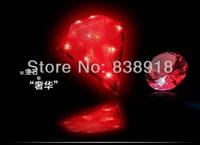 5pcs/lot Newest Arrive 8-leds LED rechargeable Bicycle Bike Laser warning tail lights Safety lifeline diamond appearance design