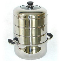 28 cm stainless steel steamer multi-purpose pot four layers