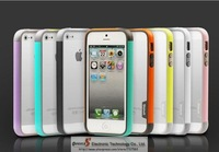 New Arrival 1PCS  Bumper Case For iphone5 5S With Retail Package Free Shipping