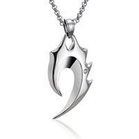 Hight quality Stainless steel Anchor necklace pendant with chain fashion jewelry wholesale 2 color choose-278
