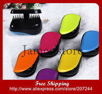 Wholesale price 2013 new Portable straight hair Combs Hot Selling hairdressing Princess Lady Diana Comb Candy Color 6 Colors