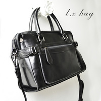 2013 autumn women's genuine leather handbag motorcycle shaping small bags one shoulder cross-body handbag