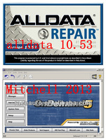 alldata 2014 Newest version !! 2014 alldata 10.53 + 2013 new mitchell ondemand 1st quarter in one 750 GB HDD Free shipping