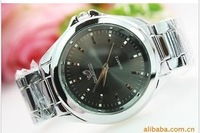 FreeShip+ Brief fashion male watch steel strip male watch