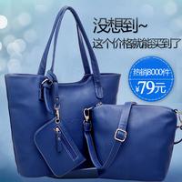 3 PCS Genuine leather new arrival women's handbag women's one shoulder bags cowhide designer bags