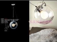 Modern brief glass ball pendant light pendant light