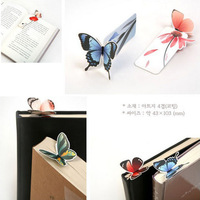 Cute butterfly bookmark, exquisite gift bookmark - 8  pieces