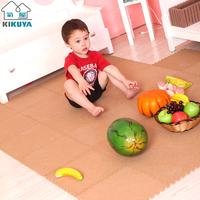 Kikuya cork mats japanese style eva foam puzzle floor mat 30
