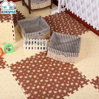 Eva puzzle mats eva foam child baby plastic floor mat 30cm
