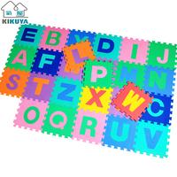 Letter digital mats eva foam cartoon puzzle floor mat 30 1