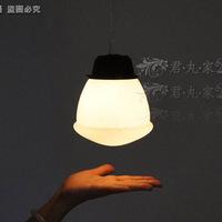 Individuality brief bedroom lights cream turtle lamp pendant light