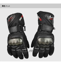 PROmen's and women's Outdoor winter gloves motorcycle waterproof wind resistant warm in winter thickened movement points gloves