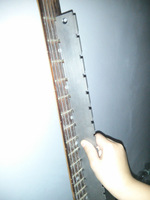 Notched Straightedge for fretboard for acoustic  classic  electric guitar