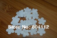 14mm Cute White Plum Flower Felt Applique Pad