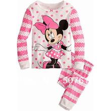 baby pajamas Baby Pyjamas Children Pyjamas Children Sleepwear baby long sleeve underwear clothing kids clear suits 6sets/lot 019(China (Mainland))