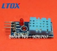 Free shipping  new  single bus digital temperature and humidity sensor DHT11 module