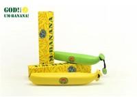 Factory price Free shipping(100pcs/lot),2013 NEW style Banana umbrella Anti-uv sun Folding rain umbrella Creative women umbrella