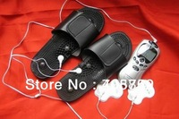 Magnetism therapy shoes ,massager shoes can be use with TENS massager
