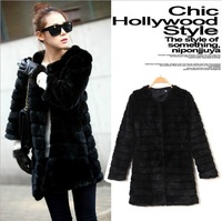 Autumn and winter fashion hot-selling women's outerwear fashion fur coat overcoat outerwear