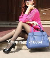 Wholesale Retro spy leather handbags Fashion shoulder Bag Black portable women leather bags purse