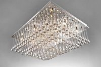 K9 droplets rectangular living room ceiling lamp