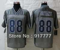 2013 Fashion  Dallas 88  Dez  Bryant Grey  Elite American Football Jerseys Free Shipping