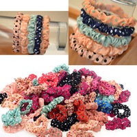 Wholesale Fashion 20pcs Lots Cute Sweet Girl Elastic Hair Band Ponytail Holder Accessories