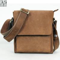 Genuine leather vintage bag casual messenger bag man bag leather bag outdoor xx bag messenger bag