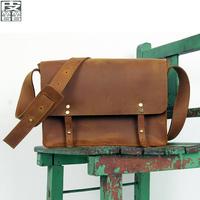 Leather 2013 bag male shoulder messenger bag vintage fashion man bag casual genuine leather bag