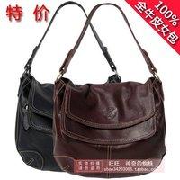2013 women's handbag brief personality vintage shoulder bag messenger bag genuine leather bag for women