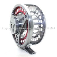 ALUMINUM Cut CNC Fly Fish Fishing Reel Ball Bearing 2+1, WF6, Line Wt: 5-7, FL85,Free Shipping DCT SPORT