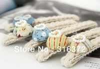 2013  winter new Style mix colour buttons spring clip