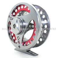 3.74'' Machine Cut Titanium Fly Fish Fishing Reel 5/7 Wt, Bear 2+1BB, 95mm,Free Shipping DCT SPORT