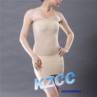 100pcs lot Slim N Lift Magic Skirt Slip  As Seen On TV  Strapless Slim Tubes Women Bodyshaper Shapewear