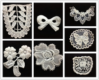 Handmade diy clothes accessories water soluble lace decoration small flower laciness decoration flower