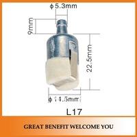 10 pieces Brush cutter L17 oil filter