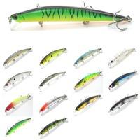 Fishing Lure Minnow Crankbait Hard Bait Fresh Water Shallow Water Bass Walleye Crappie Minnow Fishing Tackle M616X2