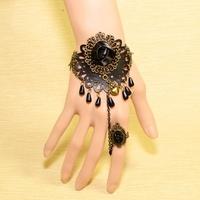 Min. order is $9 (can mix style)Euramerican popularity bracelet vampire style restoring ancient bracelet  SL129