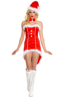 Wholesale!FREE SHIPPING!(10pieces) 100% Brand New Women's Sexy lingerie,Womens Xmas Santa Tuxedo Costume,LC7239