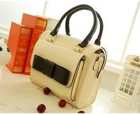 2013 big bow casual women's shoulder bag candy color sweet gentlewomen handbag bag female summer