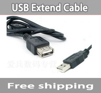 USB male to female extended cable, computer usb extension cable, convert cable, wholesale, freeshipping