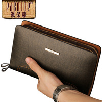 Luxury multifunctional 2013 clutch large capacity casual cowhide male bag man bag clutch