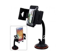 Flexible Hose Adjustable Angle Bracket Windscreen Mount Decorative Car Holder for iPhone/Samsung/HTC/BlackBerry/GPS
