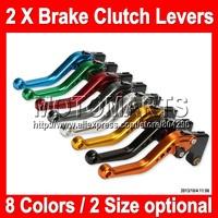 8 colors 2X Brake Clutch Levers For KAWASAKI NINJA ZX-2R ZXR-250 93-96 ZX2R ZXR250 2R 93 94 95 96 1993 1995 1996 100%NEW CNC
