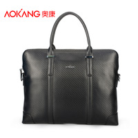 Aokang 2013 new arrival knitted handbag shoulder bag messenger bag man bag