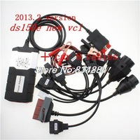 Newest design  for TCS CDP pro + DS150E new vci (2013.3) with LED and car 8 cables CN free shipping