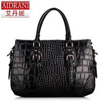 NEW 2014 Genuine leather women Messenger bags handbags famous brand Crocodile Shoulder bag Lady fashion totes women handbag