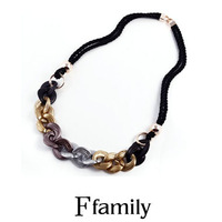The new selling European women's fashion necklace on the price still pack mail