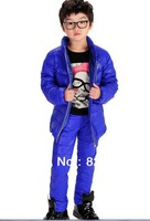 New winter down jacket suit/private children's wear children 5 to 12 years old children's wear down jacket to wear model